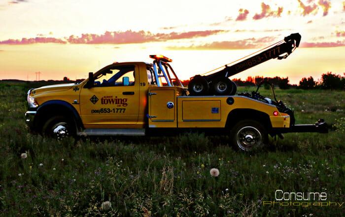 winching services saskatoon